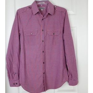 Express plaid longsleeve Button down shirt size S